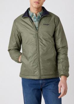 Wrangler® Reversible Jacket - Lichen Green / Navy