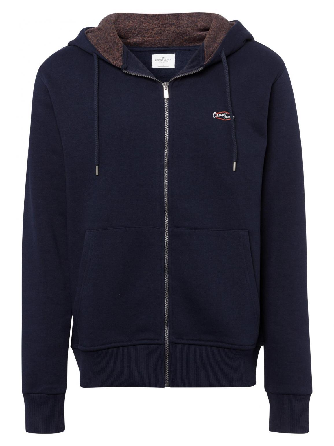 Cross Jeans® Sweat Jacket - Navy