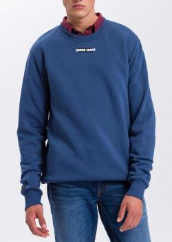 Cross Jeans® Logo Sweatshirt - Blue (005)