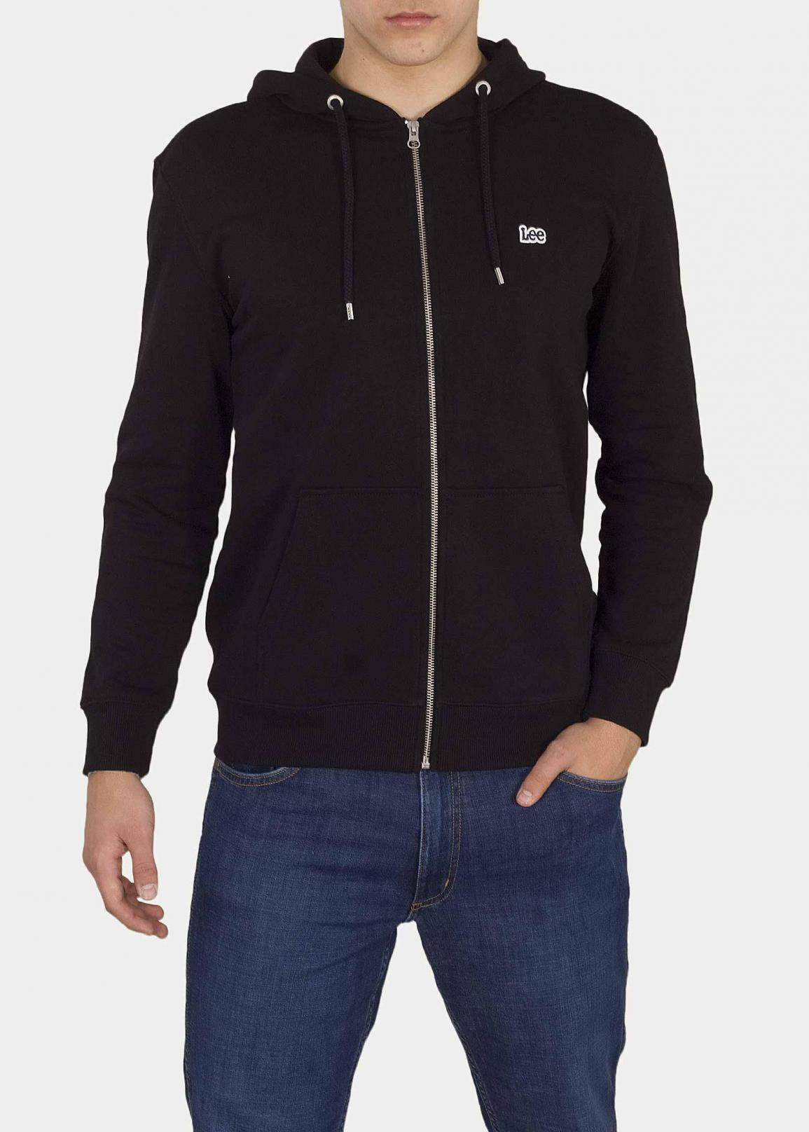 Lee® Basic Zip Throuh Hoody - Black