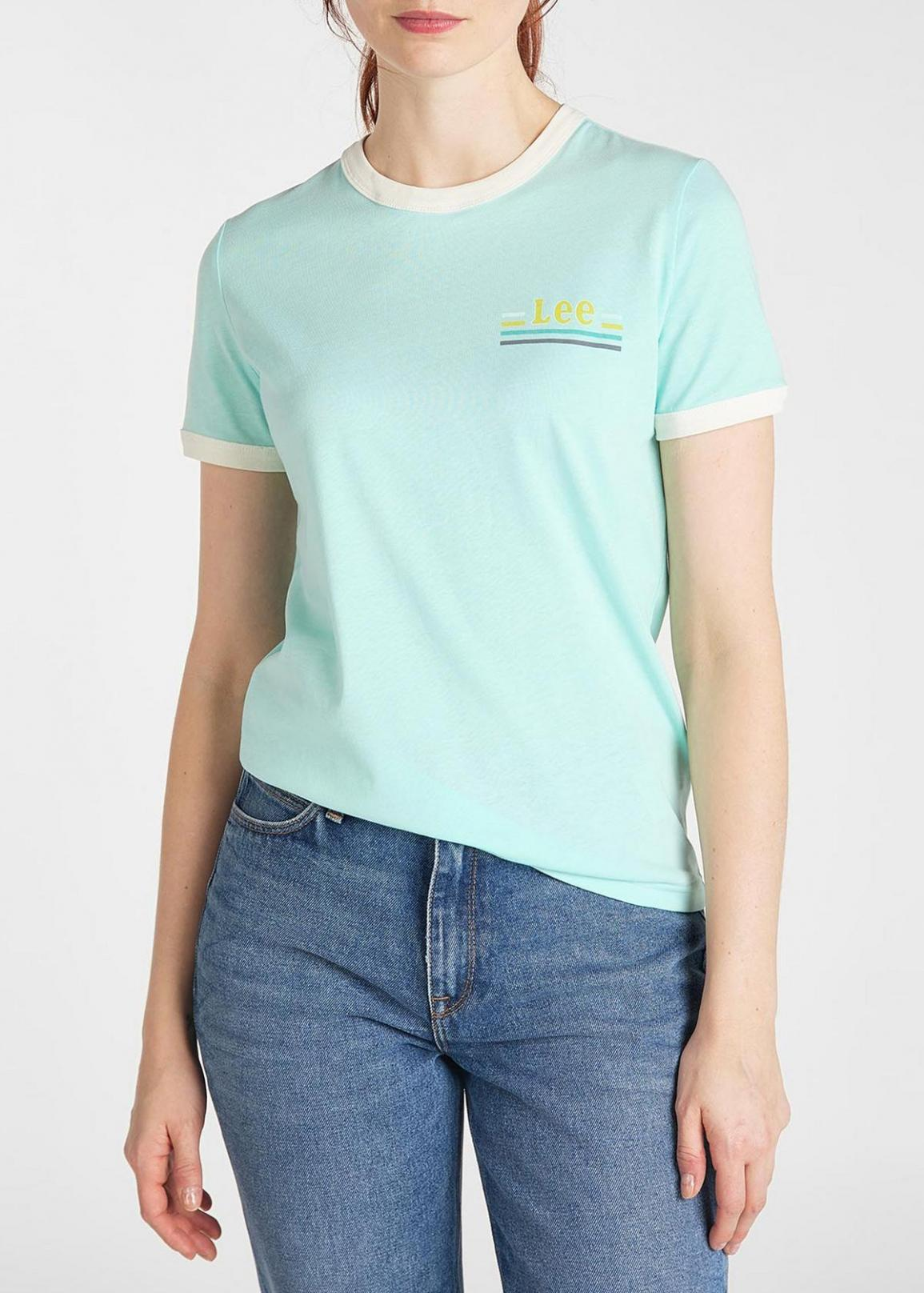 Lee® Ringer Tee - Summer Mint
