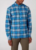 Wrangler® Longsleeve 1 Pocket Button Down - Parisian Blue