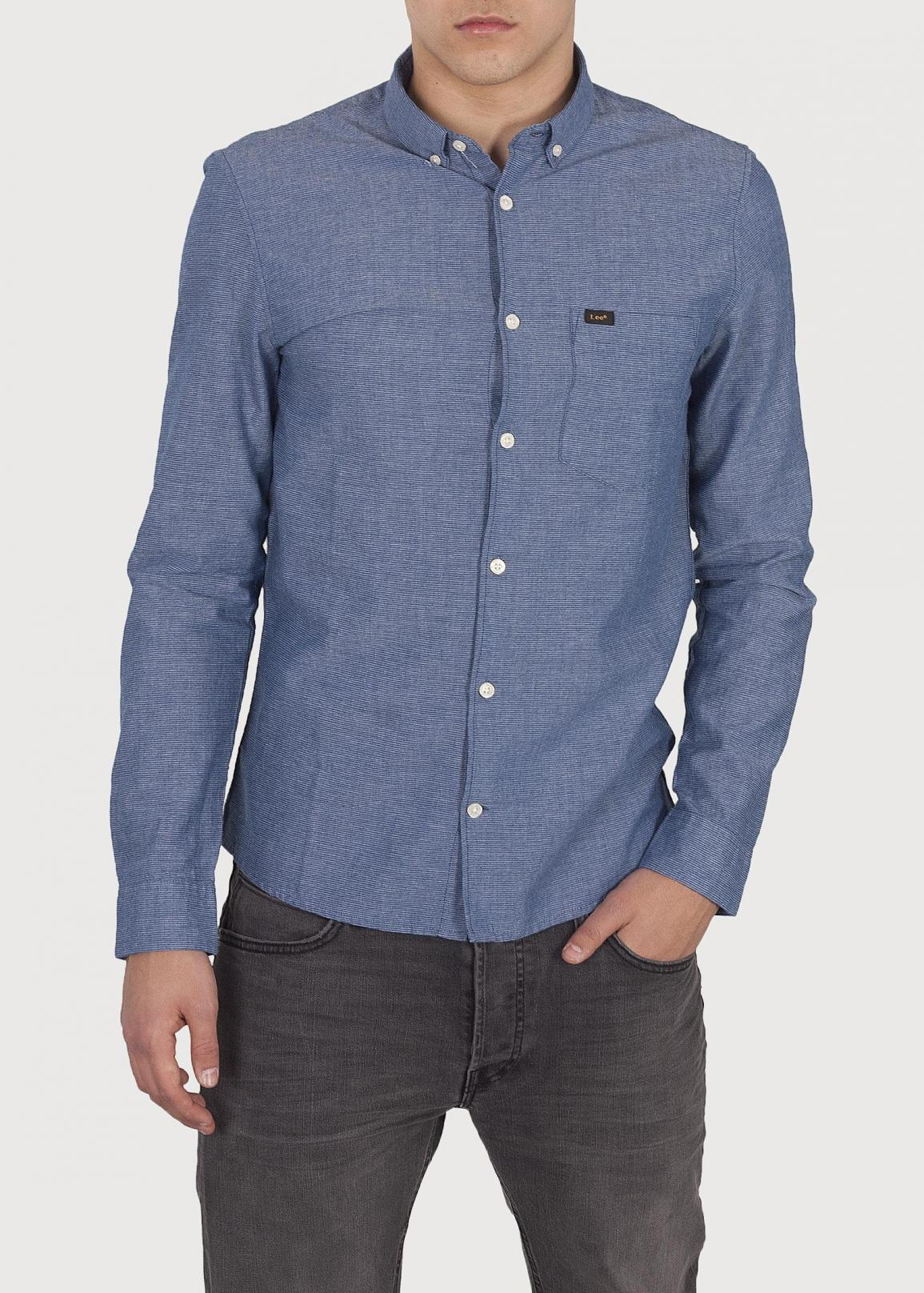 Lee® Slim Button Down - Washed Blue