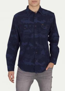 Lee® Seasonal Worker Shirt - Washed Blue