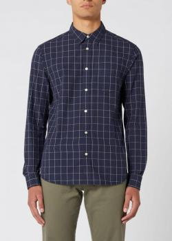 Wrangler® Longsleeve 1 Pocket Shirt - Navy
