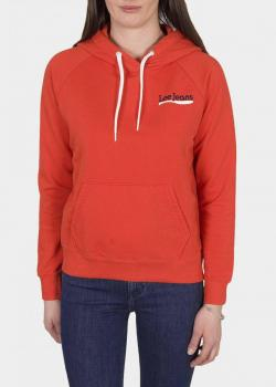 Lee® Logo Sweatshirt - Poppy Red