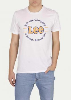 Lee® Kansas Circle Tee - Bright White