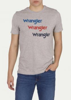 Wrangler® SS Repeat Tee - Grey Melange