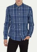 Wrangler® Longsleeve 2 Pocket Flap Shirt - Blue Topaz