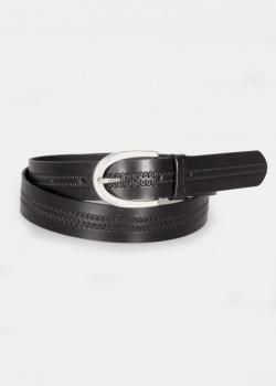 Cross Jeans® Leather Belt - Black