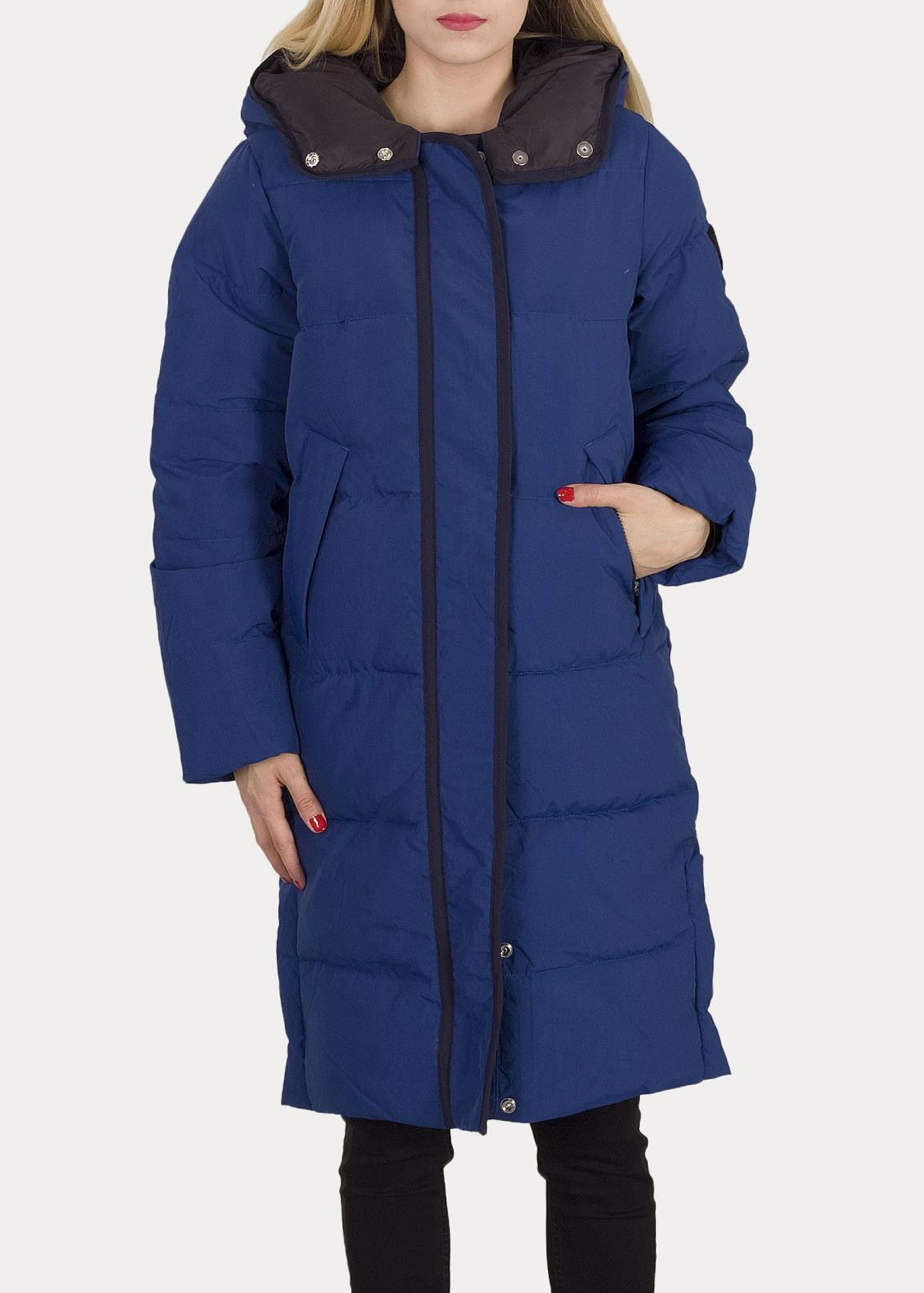 Lee® Long Puffer Jacket - Oil Blue