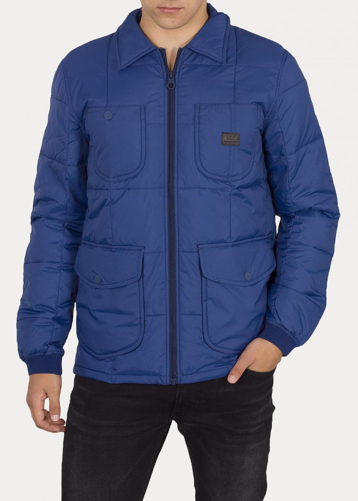 Lee® Lightweight Padded Jacket - Oil Blue