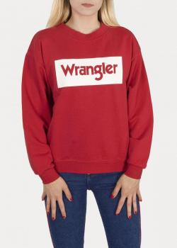 Wrangler® 80´S Retro Sweater - Red