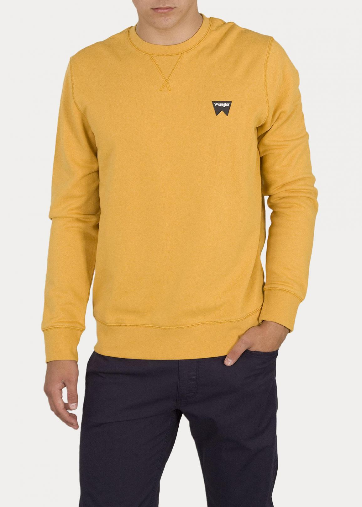 Wrangler® Sign Off Sweater - Mineral Yellow
