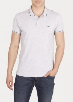 Lee® Pique Polo - Sharp Grey Mele