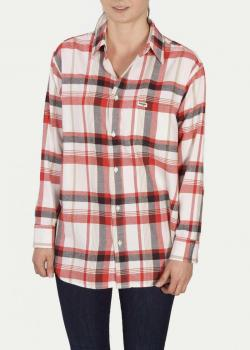 Wrangler® Boyfriend Shirt - Egret Off White