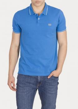 Lee® Pique Polo - Dipped Blue