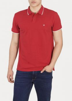 Wrangler® Polo - Scarlet Red