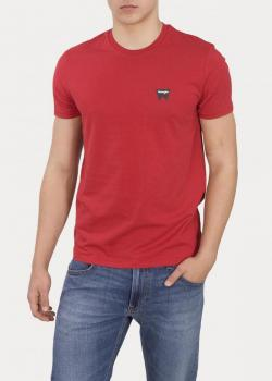 Wrangler® Sign Off Tee - Scarlet Red