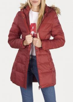 Wrangler® Long Puffer - Syrah Red