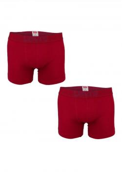 Levi's® Bodywear 2 Pack 200sf Boxer Brief - Red