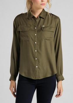 Lee® Utility Shirt - Olive Green