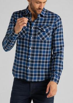 Lee® Western Shirt - Wasged Blue