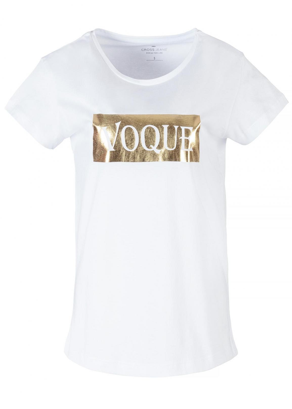 Cross Jeans® T-Shirt Voque - White (008)