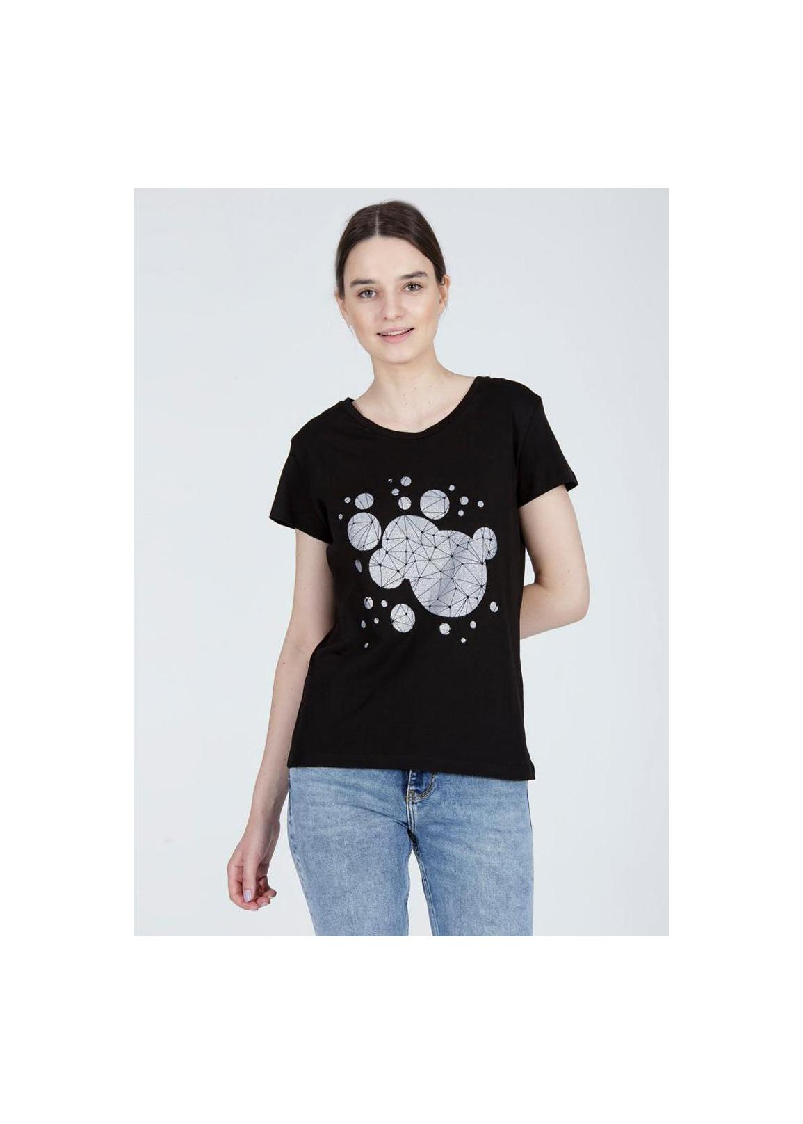 Cross Jeans® T-Shirt Bubbles - Black (020)
