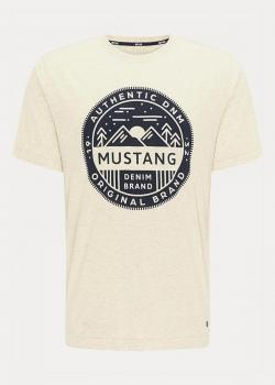 Mustang® Alex C Print - Warm Grey Melange 2021