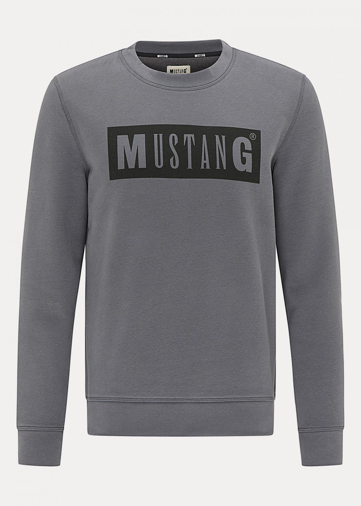 Mustang® Ben C Logo - Dark Blue Grey