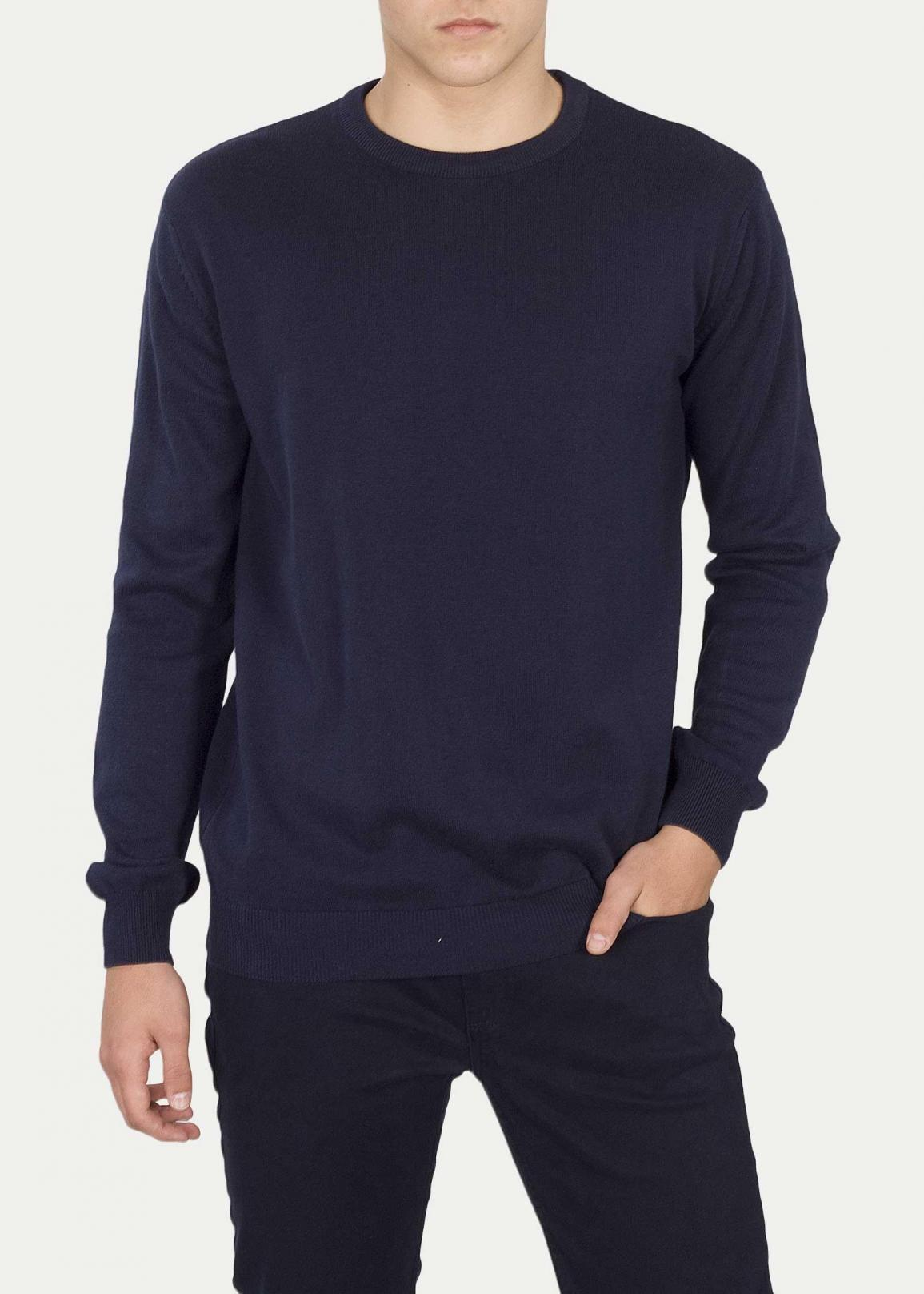 Cross Jeans® Sweter 34156 - Navy (001)