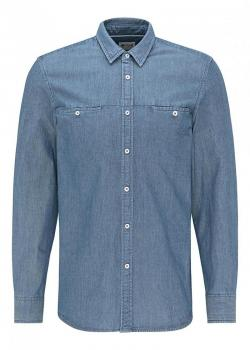 Mustang® Casper denim Pique - Denim Blue