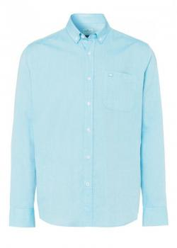 Cross Jeans® Shirt 1Pocket Logo - Light Blue (130)