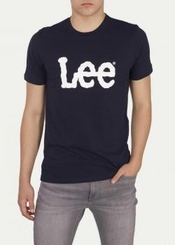 Lee® Logo Tee - Navy Drop