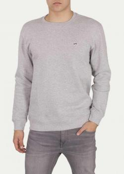 Lee® Crew Sweatshirt - Grey Mele