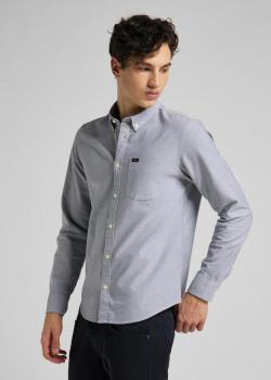 Lee® Lee Button Down Shirt - Cloudburst Grey