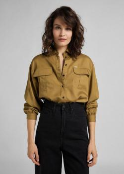 Lee® Box Pleat Shirt - Safari