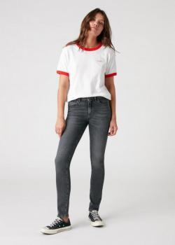 Wrangler® Relaxed Ringer Tee - Flame Red