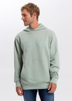 Cross Jeans® Hoodie - Green Tea