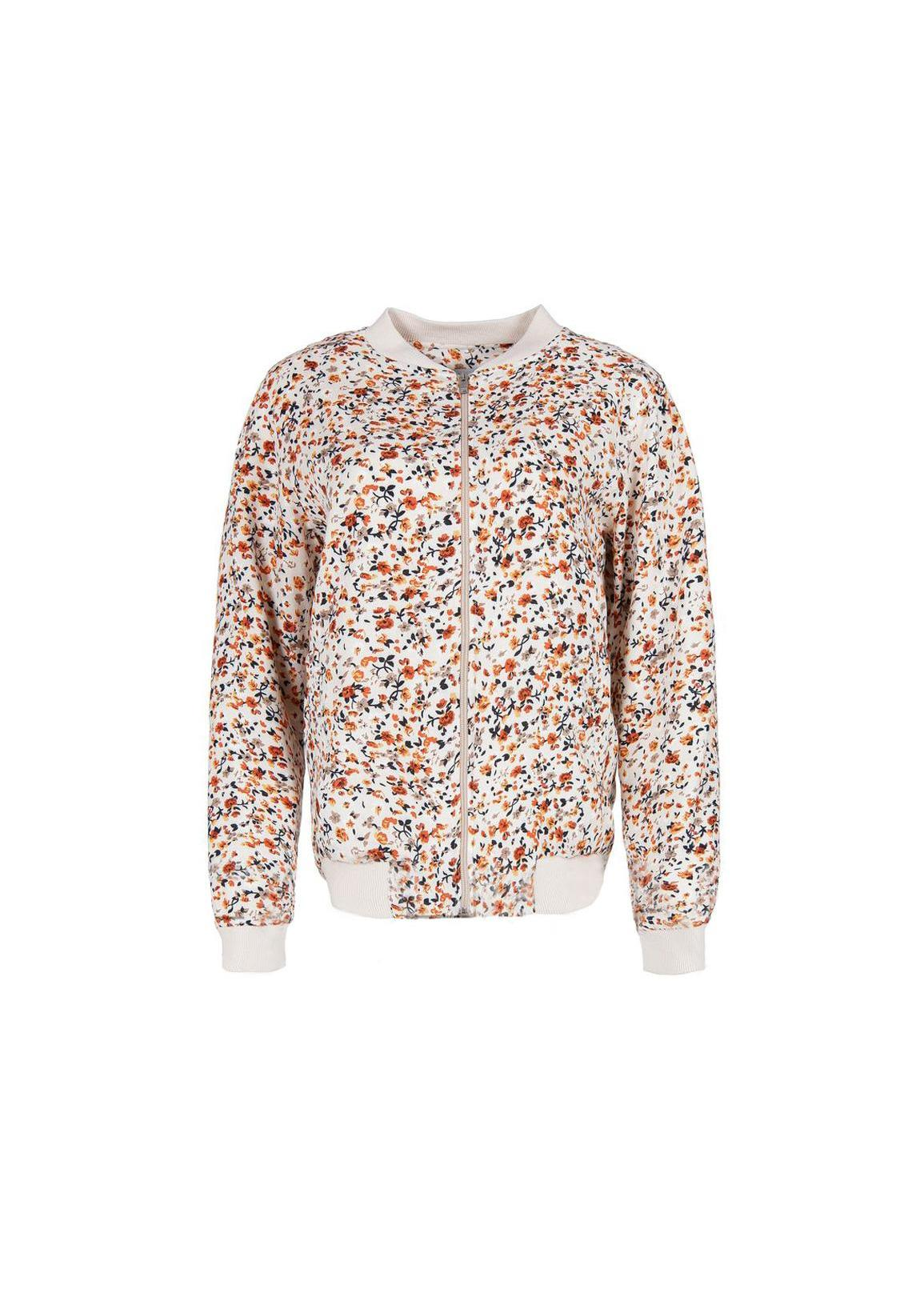 Cross Jeans® Floral Jacket - Ecru