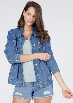Cross Jeans® Denim Jacket - Blue