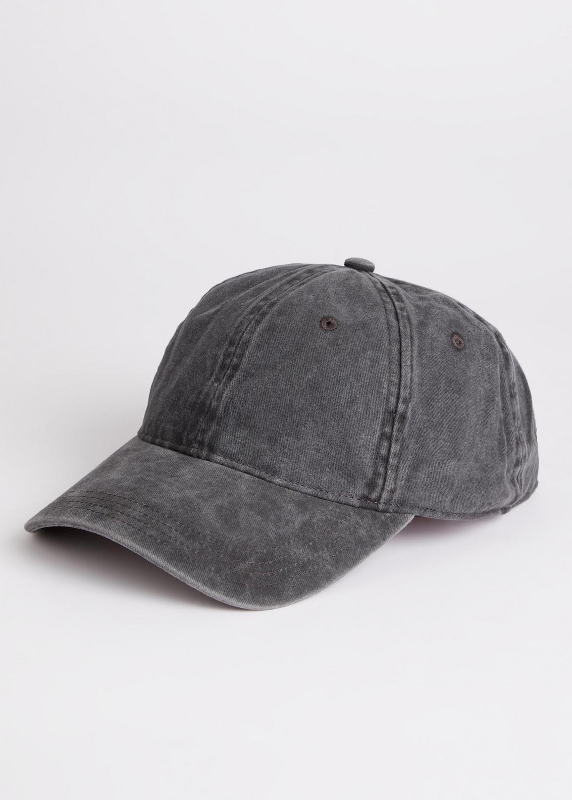 Wrangler® Washed Canvas Cap - Faded Black