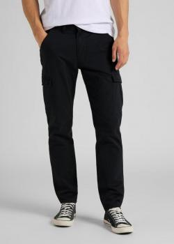 Lee® Tapered Cargo Trousers - Black